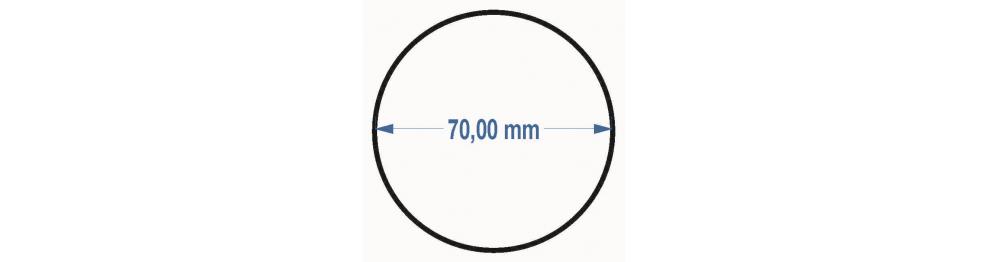 Priemer 70 cm