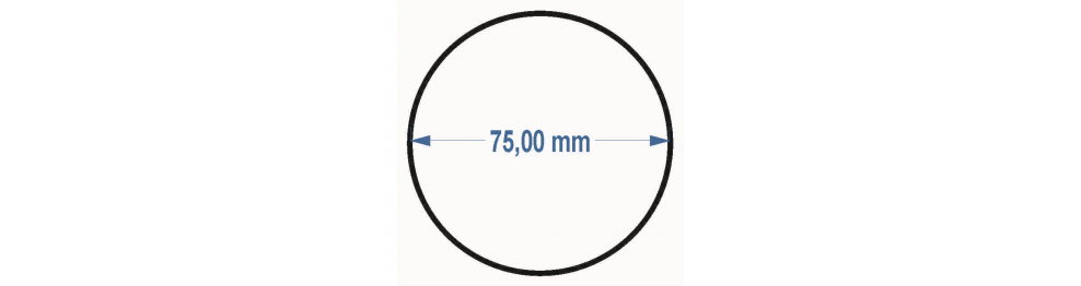 Priemer 7,5 cm