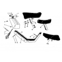 Kryty, nádrž, sedadlo