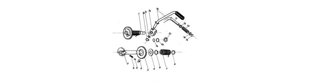 Štartovací mechanizmus